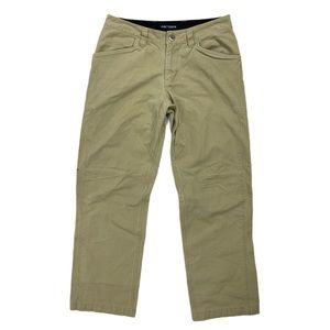 Arc'teryx Women's Khaki Straight Leg Pants